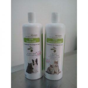 שמפו טבעי לכלבים וחתולים