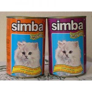 שימורים לחתולים Simba