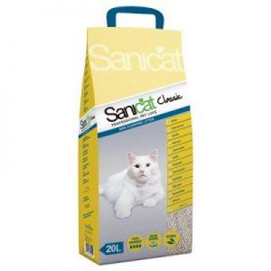 """חול לחתולים סאני קט קלאסיק, 12.5 ק""""ג"""