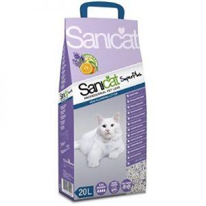 """חול לחתולים סאני קט פלוס, 12.5 ק""""ג"""