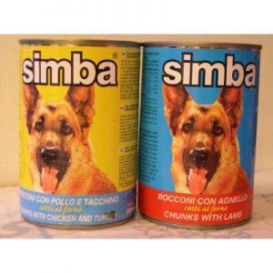 שימורים לכלבים סימבה