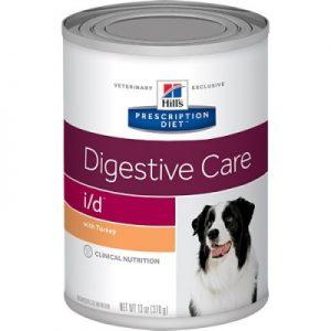 שימורי מזון רפואי לכלבים I/D