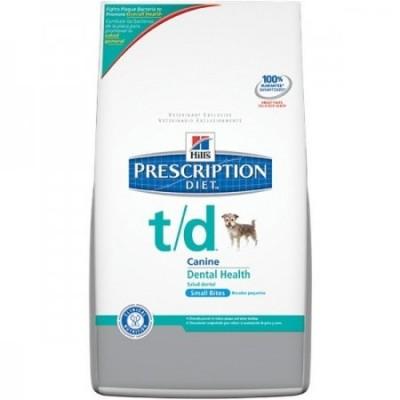 מזון רפואי הילס T/D לכלב קטן