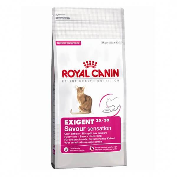 """מזון לחתול רויאל קנין אקסיגנט 4 ק""""ג"""