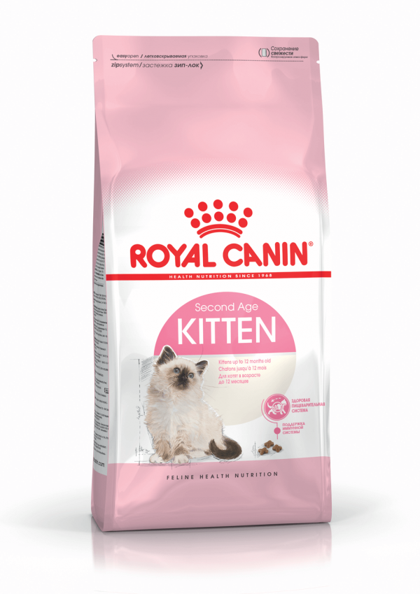 """מזון לחתול רויאל קנין קיטן 4 ק""""ג"""