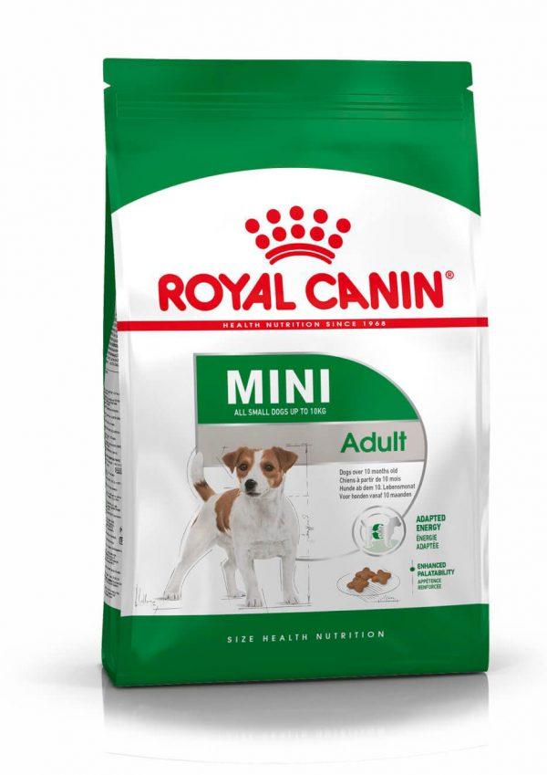 """מזון לכלבים רויאל קנין מיני בוגר 4 ק""""ג"""